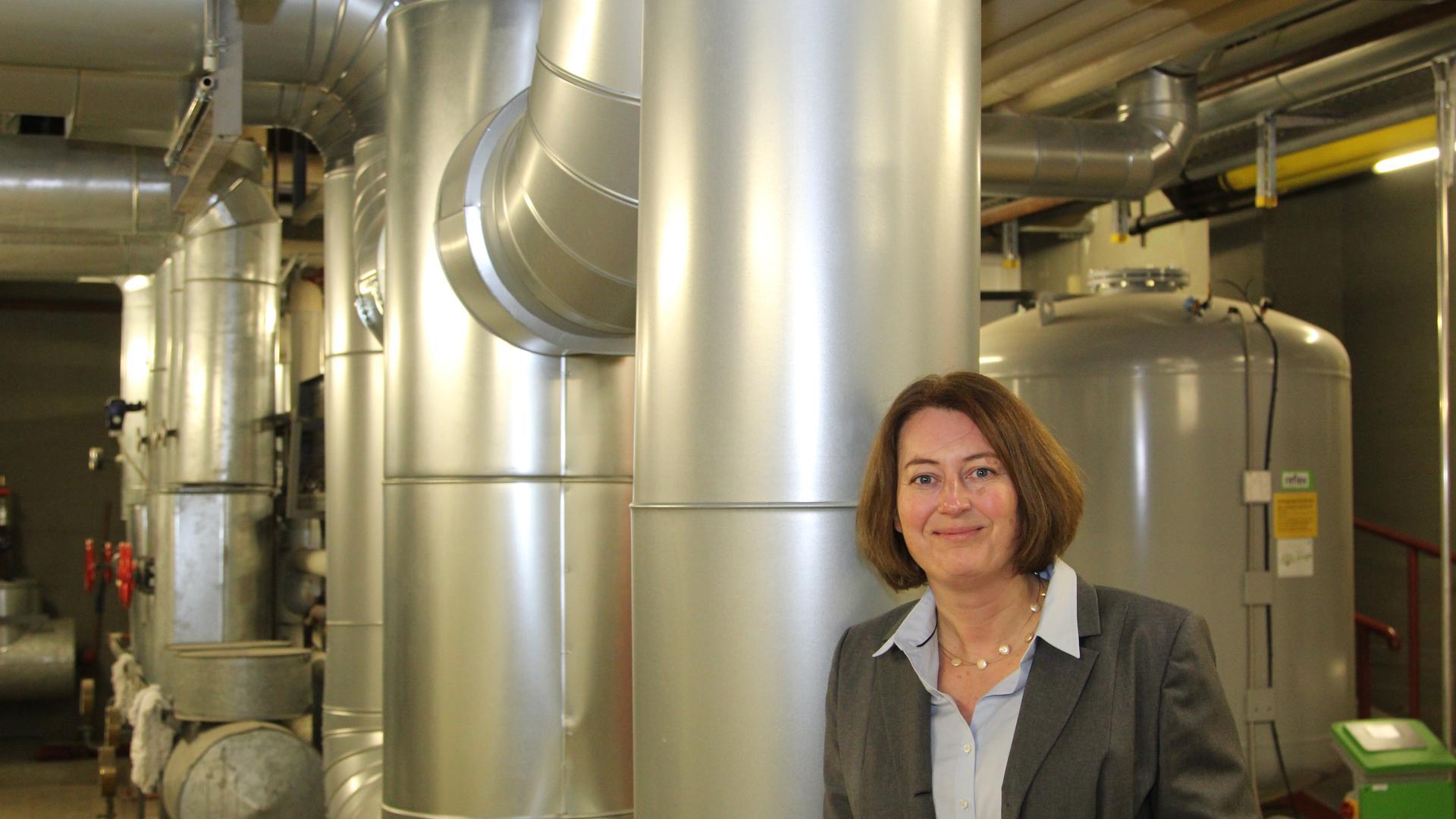 Ingela Tietze, ab Ende 2020 Prorektorin Hochschule Pforzheim, zuständig für das Ziel Klimaneutralität