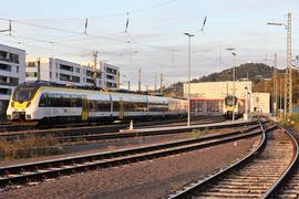 Auf dem Abstellgleis? Das Bahnbetriebswerk des privaten Betreibers Abellio für den Südwesten ist in der Nähe des Pforzheimer Bahnhofs angesiedelt.