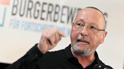 Uwe Hück, früherer Porsche-Betriebsratschef und Ex-Sozialdemokrat.