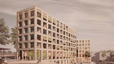 Es krankt am Geld: Das ambitionierte Neubauprojekt der AOK auf dem ehemaligen Zentralen Omnibusbahnhof Süd am Pforzheimer Hauptbahnhof ist wegen Corona abgeblasen.