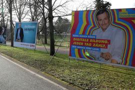 Wahlkampf Pforzheim_Kaiser-Friedrich-Straße_Nähe Esso-Tankstelle4