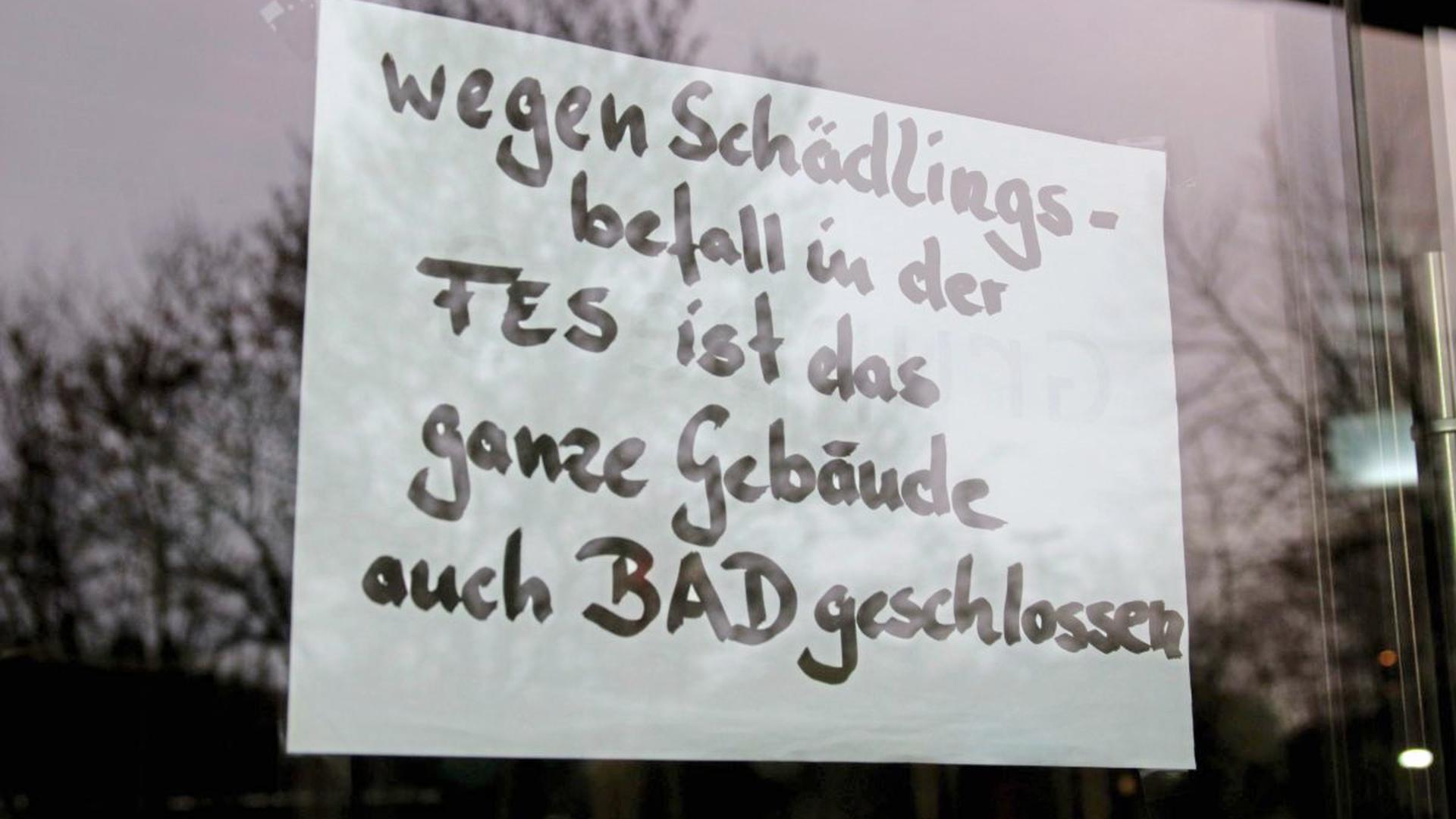 Die Fritz-Erler-Schule bleibt nun wohl für den Rest des Jahres geschlossen.