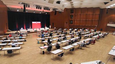 Delegiertenwahl des SPD-Ortsvereins Pforzheim im Kongresszentrum Pforzheim