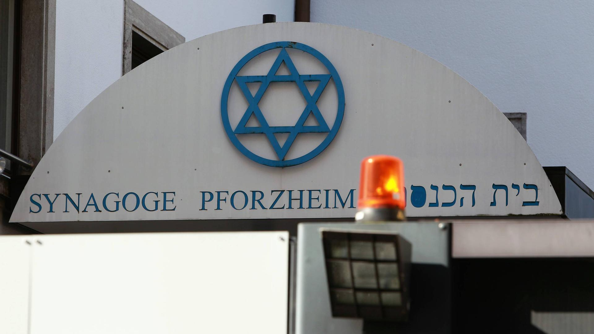 Synagoge Pforzheim Sicherheit Polizei