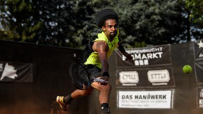 Dustin Brown.  GES/ Tennis/ Team Challenge Rueppurr, 16.09.2020  Tennis: Team Challenge TCR, Rueppurr, September 16, 2020