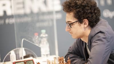 Am Spitzenbrett aktiv: Vize-Weltmeister Fabiano Caruana feierte mit der OSG Baden-Baden den Titel bei der deutschen Schach-Meisterschaft in Karlsruhe.