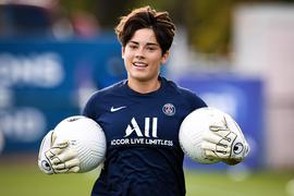 Charlotte Voll  1 - PSG  - Echauffement - FOOTBALL : Paris Saint Germain vs EA Guingamp - Championnat Feminin D1 - Paris - 05/09/2020 FedericoPestellini/Panoramic PUBLICATIONxNOTxINxFRAxITAxBEL