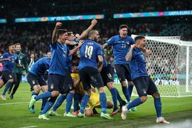 Italienischer Sommer: Die Squadra Azzurra feiert in Wembley den Gewinn des EM-Titels.