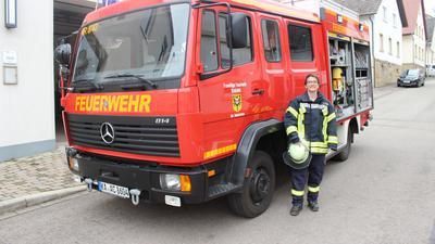 Daniela Keller, Feuerwehr Bahnbrücken