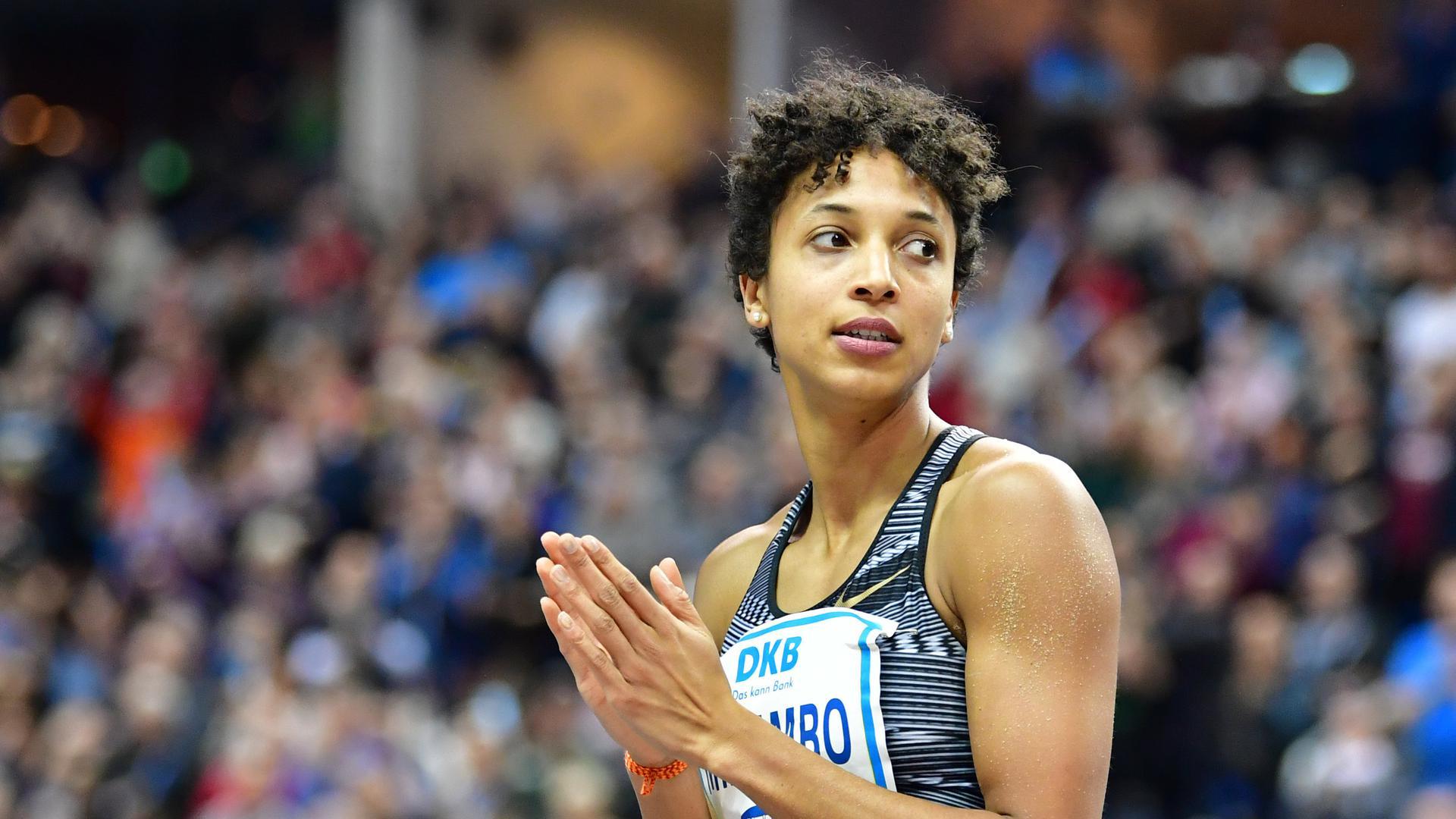 Die deutsche Sportlerin Malaika Mihambo.