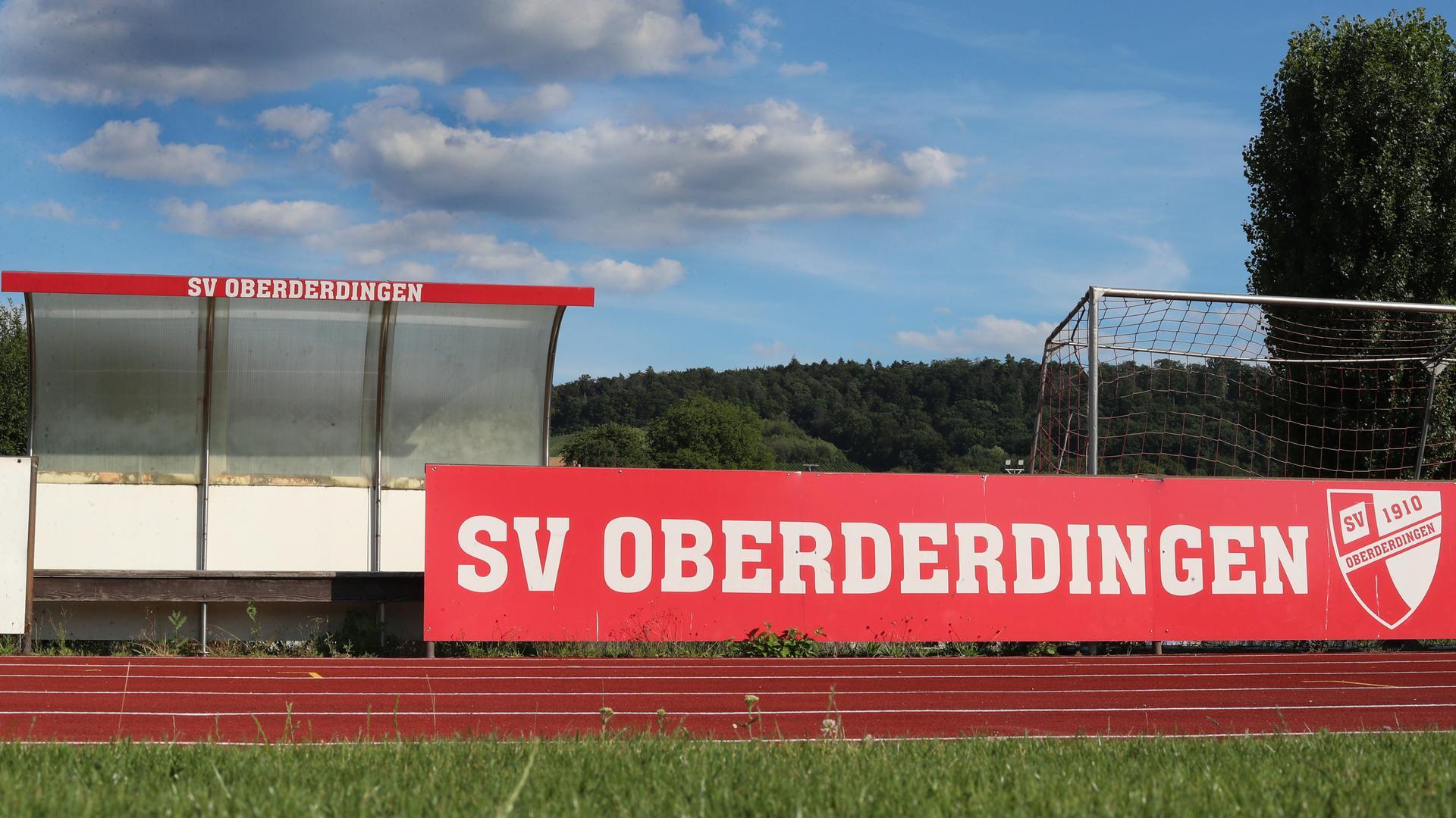 Das Sportgelände des SV Oberderdingen