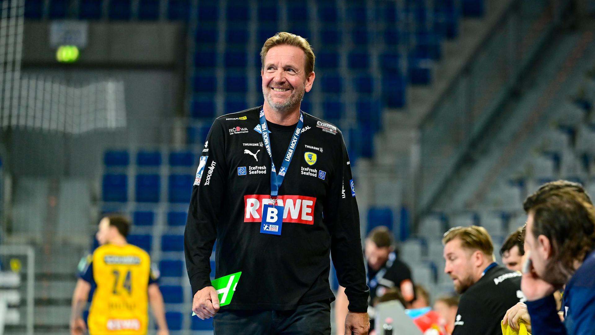 Handballcoach Martin Schwalb
