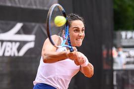 Martina Trevisan (ITA) Aktion.  GES/ Tennis/ Liqui Moly Open 2021, 10.09.2021