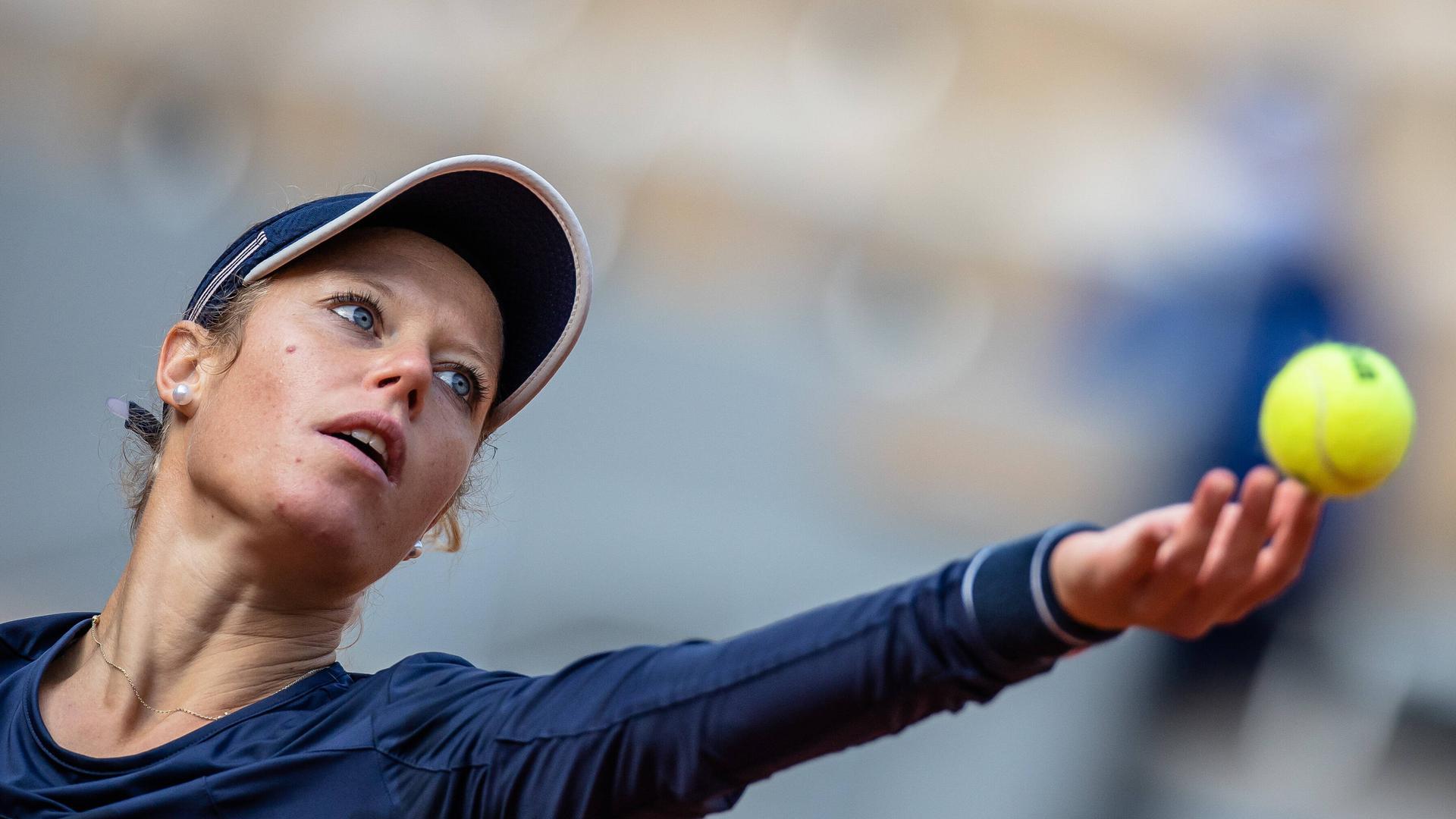 Nicht Tennis-müde: Laura Siegemund hat der Titel bei den US Open und das Erreichen des Viertelfinales der French Open nur noch weiter motiviert.