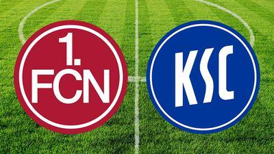 Der Karlsruher SC tritt um 18.30 Uhr bei den Franken an.