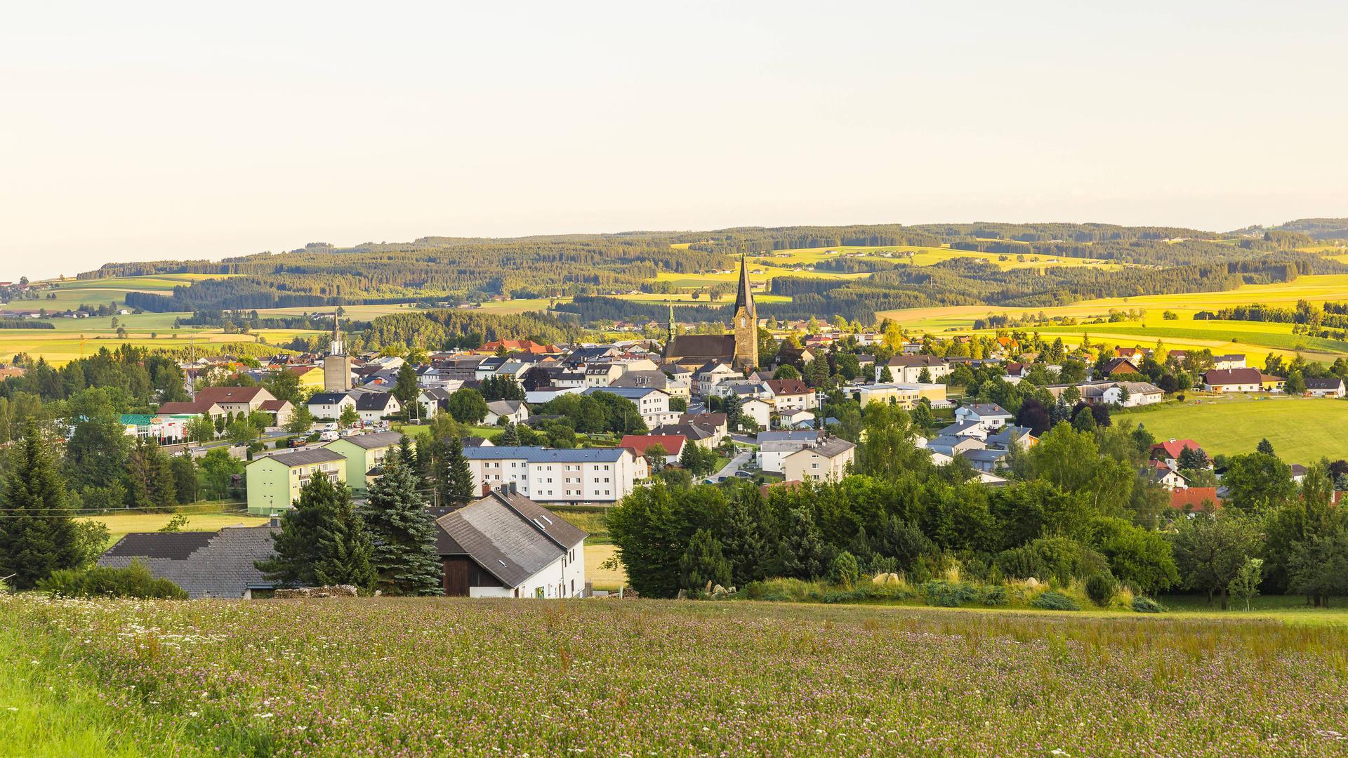 Austria, Muehlviertel, Bad Leonfelden, spa town PUBLICATIONxINxGERxSUIxAUTxHUNxONLY AIF00607