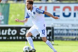 Tempo auf der linken Bahn: Lucas Cueto erhofft sich für Samstag, dass er in Rostock seine Zweitligapremiere erleben wird.