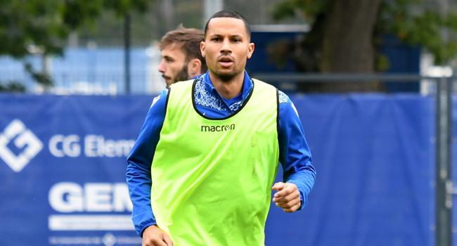 Vertrag bis Saisonende: Der niederländische Neuzugang Ricardo van Rhijn trainierte am Dienstag zweimal mit der Mannschaft des KSC.