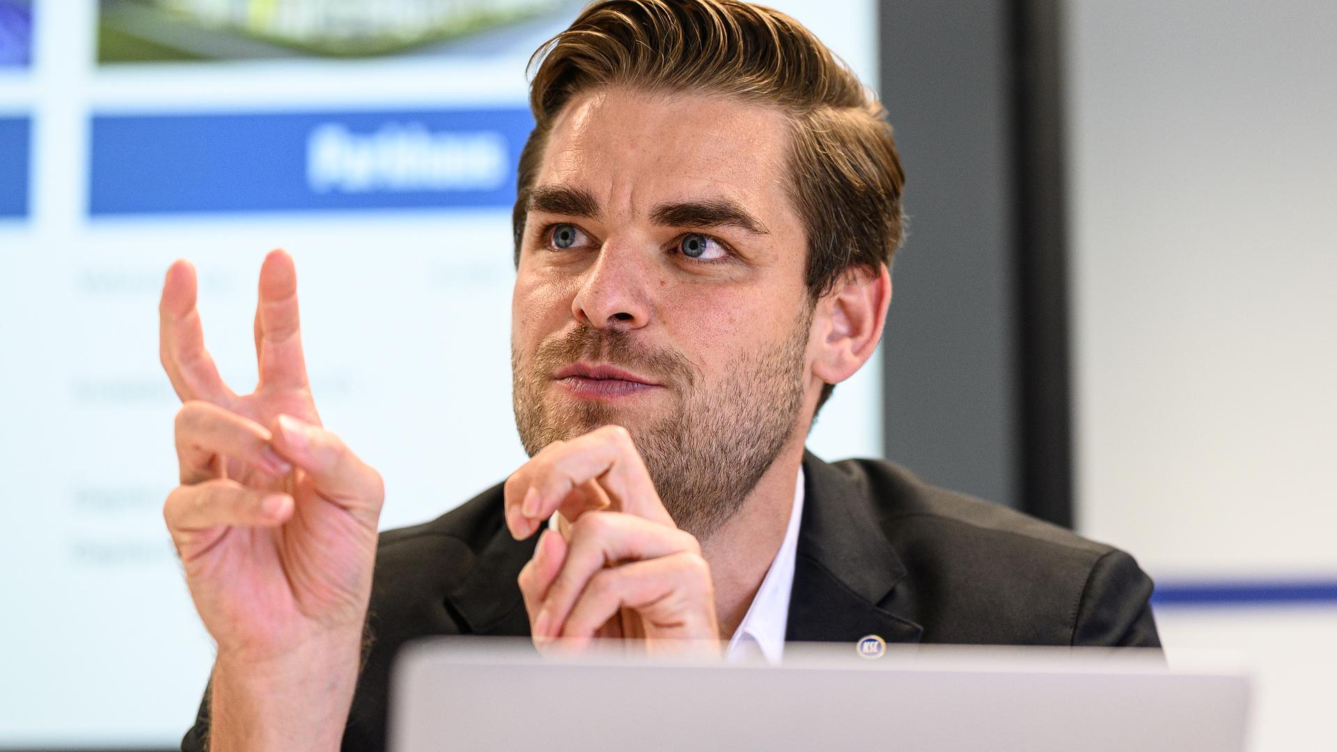 Mit Plan durch die Pandemie: Michael Becker sieht den Karlsruher SC noch verhältnismäßig glimpflich durch die Corona-Krise gekommen.