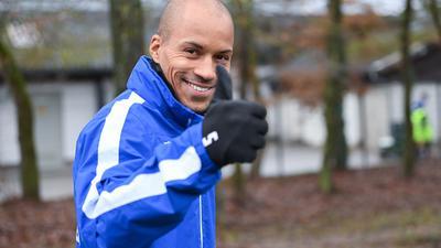 Stammplatz auf der Tribüne: David Pisot nimmt seine Situation beim Karlsruher SC an und muss nach der Saison zu neuen Ufern aufbrechen.
