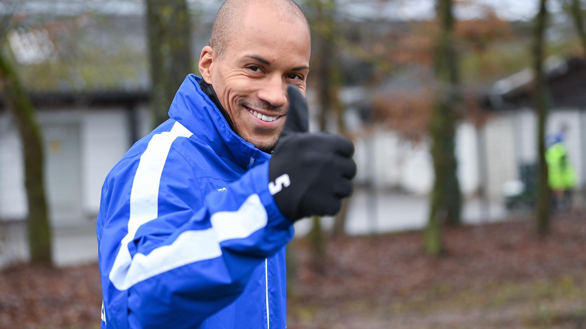 Professionell: David Pisot nimmt seine Situation beim Karlsruher SC an und muss nach der Saison zu neuen Ufern aufbrechen.