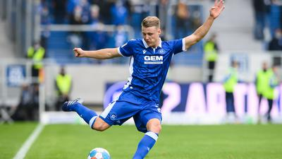 Vertrag verlängert, Konkurrent im Anflug: Rechtsverteidiger Marco Thiede bleibt bis 2024 beim Karlsruher SC.