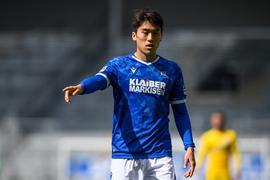 Entscheidung gefallen: Mittelfeldspieler Kyoung-Rok Choi wird über die laufende Saison hinaus das Trikot des Karlsruher SC tragen.