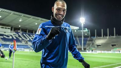 Heiligabend daheim mit Hackbraten: Der 35 Jahre alte Daniel Gordon schaut beim KSC auf ein Fußballjahr zurück, wie er es noch nicht kannte.