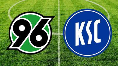 Hannover 96 gegen den Karlsruher SC