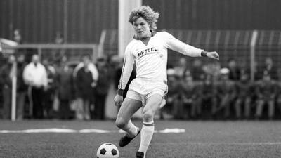 Abstinenzler am Ball: Michael Harforth war schon Ende der 1970er ein echtes Talent am Ball. Seine Freizeit verbrachte er ganz anders als seine Mannschaftskollegen.