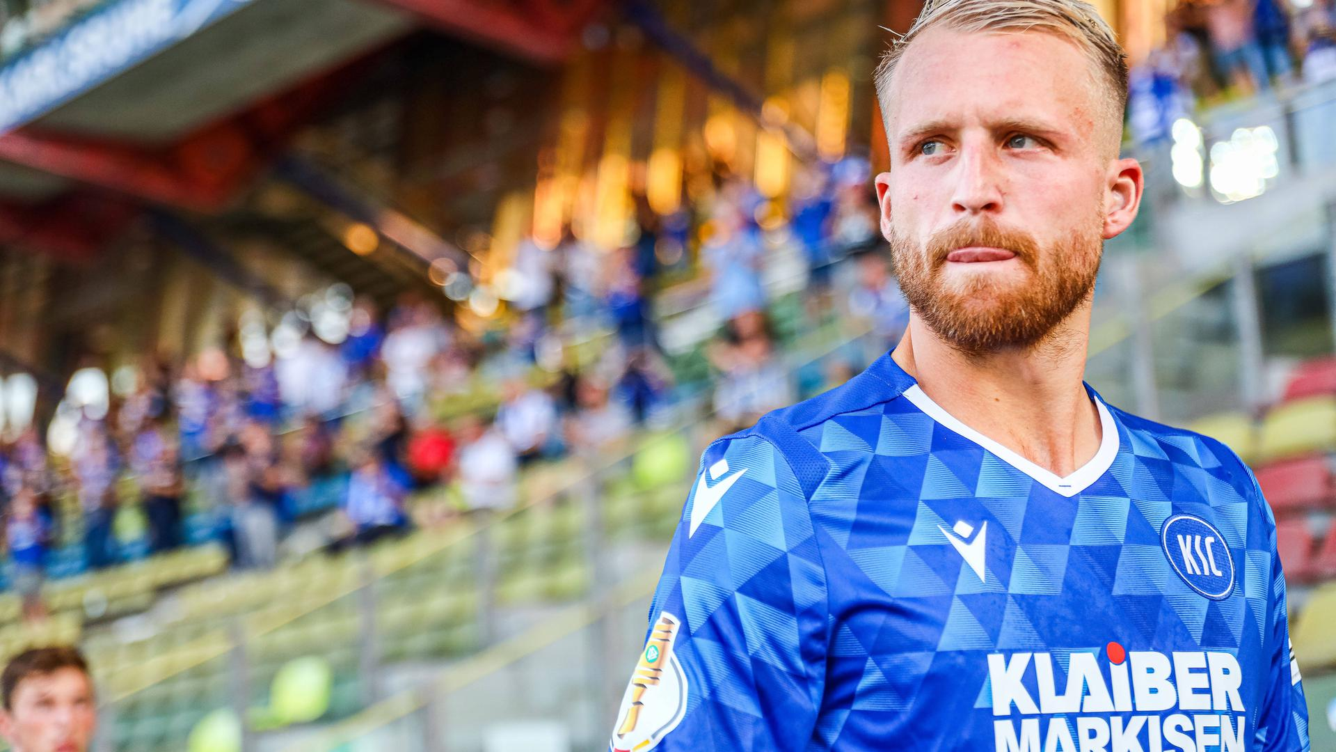 Im Kader für Regensburg: Für den Angreifer Philipp Hofmann haben sich die Wechselwünsche für den Moment erledigt.
