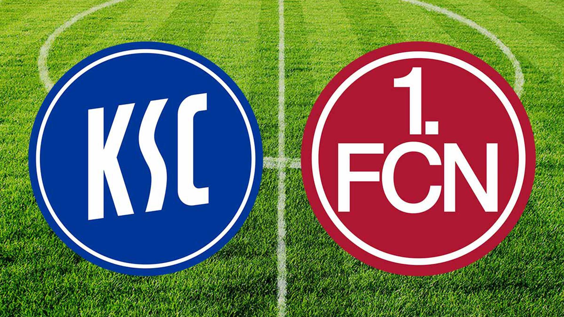Der KSC empfängt um 13.30 Uhr den 1. FC Nürnberg im Wildparkstadion.