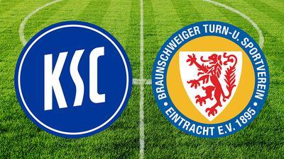 Der KSC trifft am Samstag ab 13.30 Uhr auf Eintracht Braunschweig.