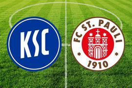 Der Karlsruher SC empfängt den FC St. Pauli.