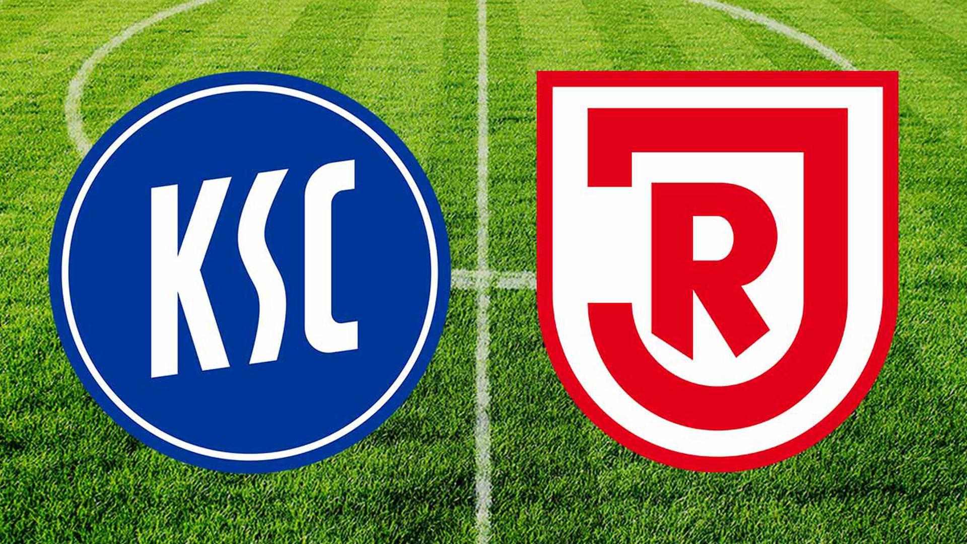 Karlsruher SC gegen SSV Jahn Regensburg
