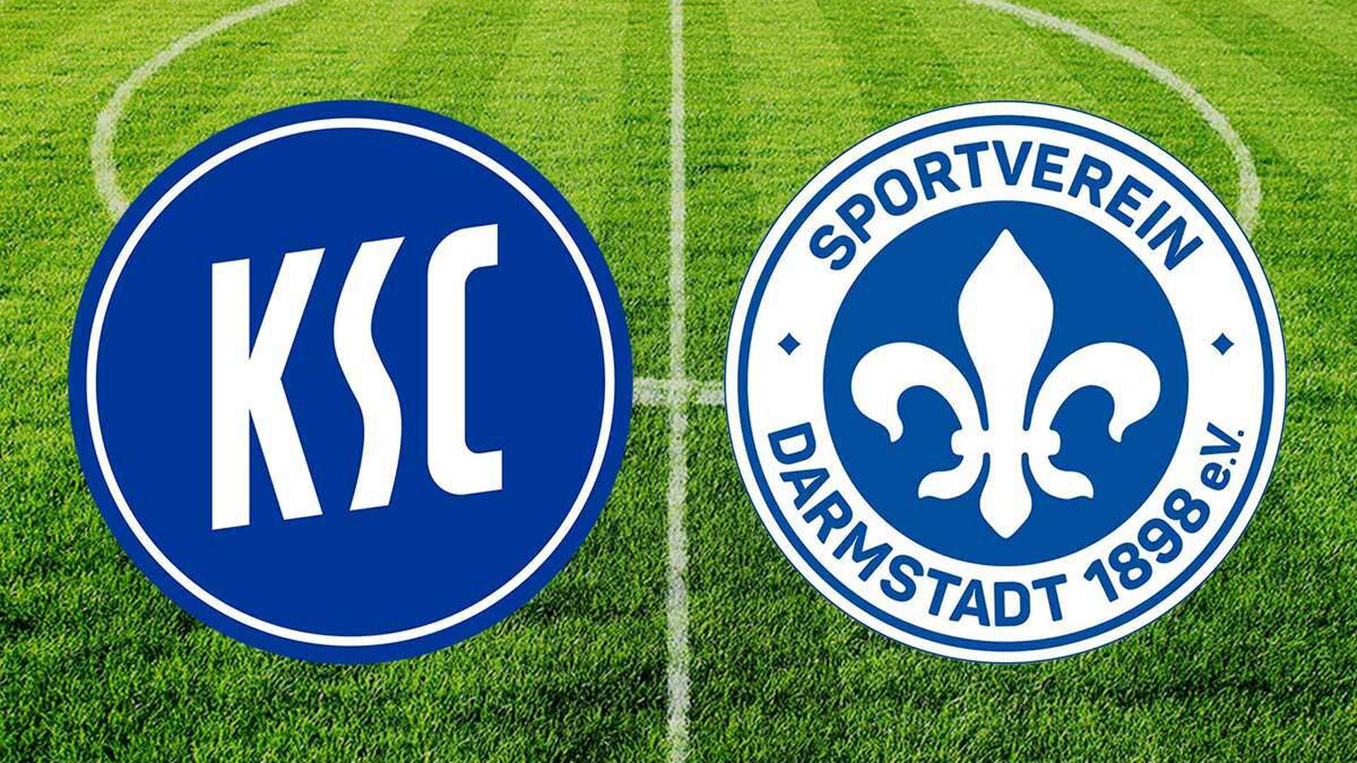 KSC gegen Darmstadt 98. Das Spiel im BNN-Live-Ticker