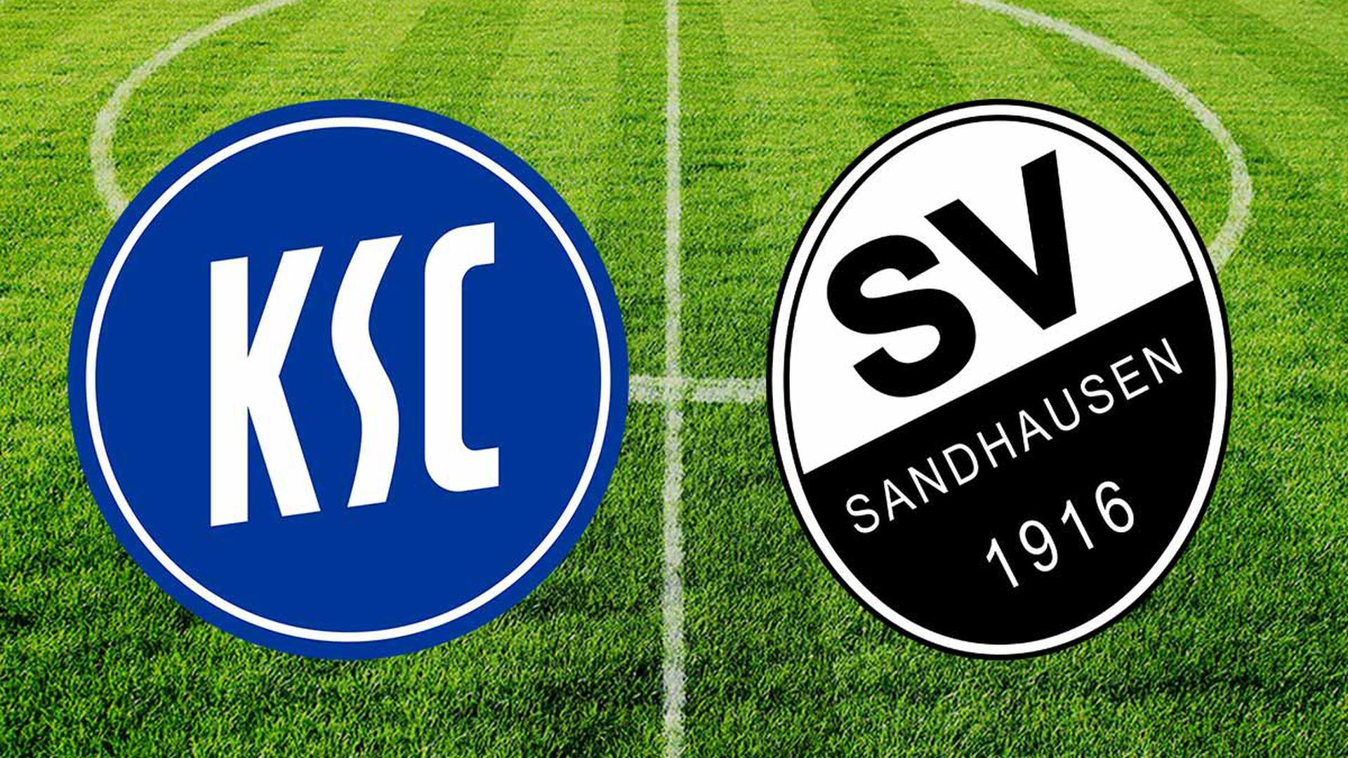 Der Karlsruher SC trifft im badischen Derby zu Hause auf den SV Sandhausen.