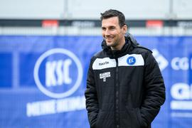 Trainer Christian Eichner (KSC)