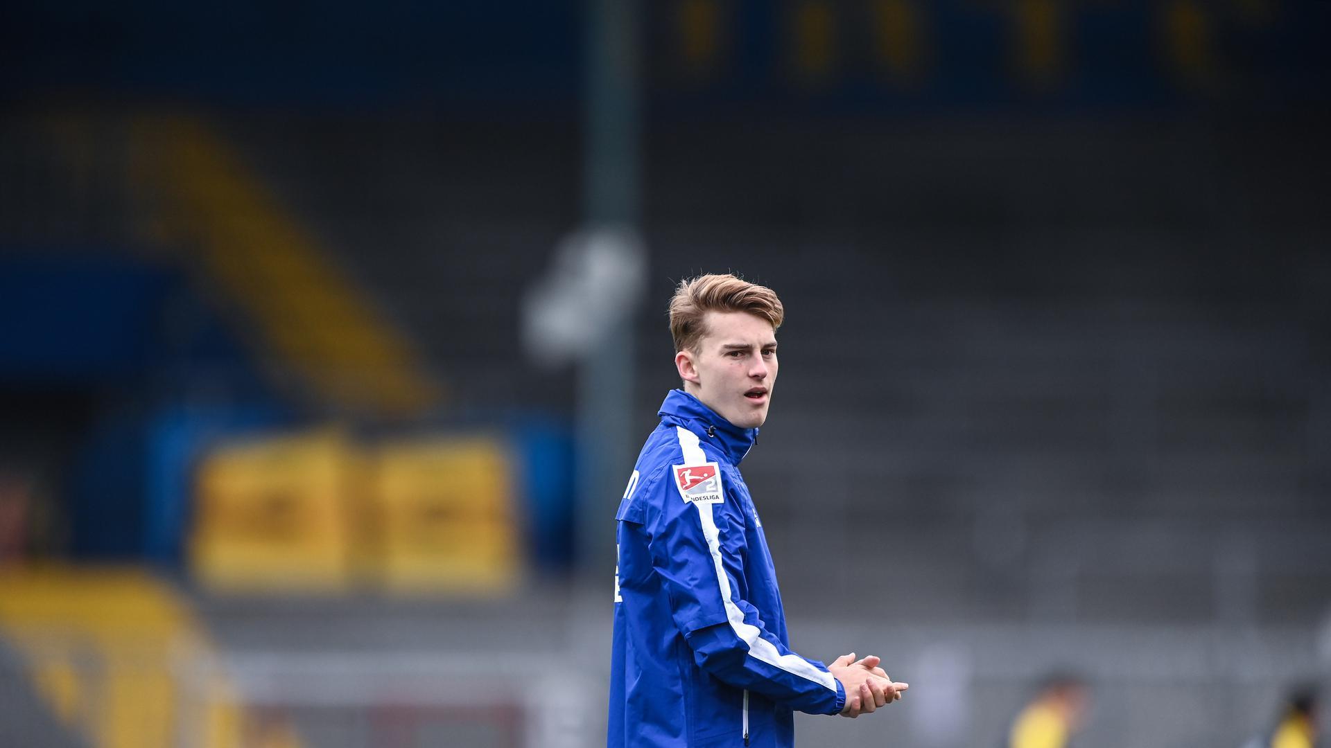 Dominik Kother steht seinem Trainer Christian Eichner nach überstandener Agina wieder zur Verfügung.
