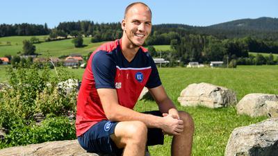 Naturliebhaber: KSC-Torwart Markus Kuster hat im österreichischen Trainingslager ein Heimspiel.