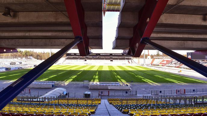 Stadion Spielfeld