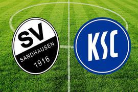 Der KSC tritt um 13 Uhr beim SV Sandhausen an.