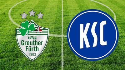 Live-Ticker: SpVgg Greuther Fürth gegen Karlsruher SC
