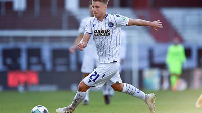 Lernfähig mit 28: Marco Thiede sieht sich als Schaffer am rechten Flügel in der Mannschaft des Karlsruher SC gut aufgehoben.
