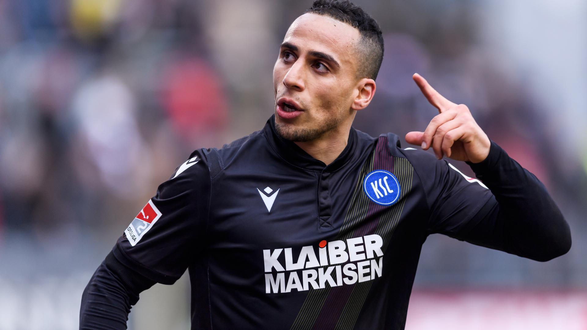 Nach seinem starken Auftritt gegen Sandhausen will KSC-Neuzugang Änis Ben-Hatira nun auch gegen Nürnberg jubeln.