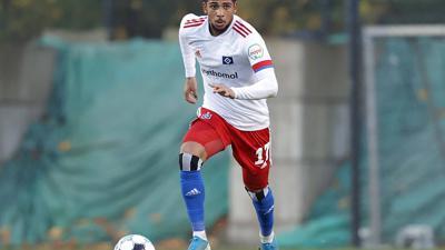 Bis Saisonende beim KSC: Die Badener haben den 20 Jahre alten Flügelspieler Xavier Amaechi bis Saisonende ausgeliehen.