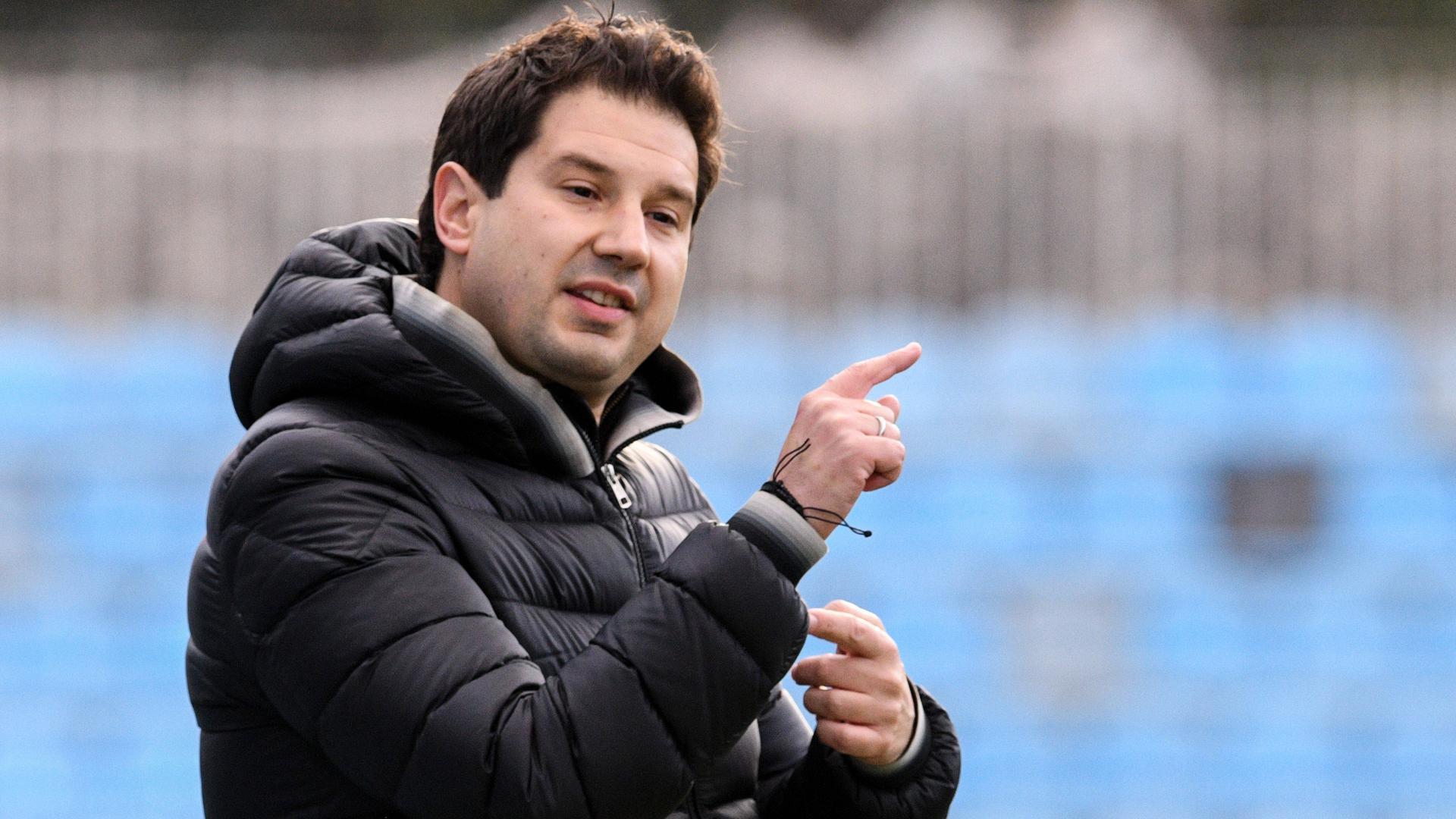 Ankunft bei einem Topclub: Argirios Giannikis, der aus dem Nachwuchs des Karlsruher SC hervorging, ist der neue Cheftrainer beim zwölfmaligen griechischen Meister AEK Athen.
