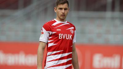 Zukunftsfrage: Marvin Pieringer, der zwischen Januar und Mai den Abstieg mit Würzburg nicht aufhalten konnte, ist noch nicht entschieden.