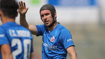 Gute Erinnerungen: Damian Roßbach, der in sein zweites Jahr bei Hansa Rostock geht, freut sich ganz besonders auf den 24. Juli.