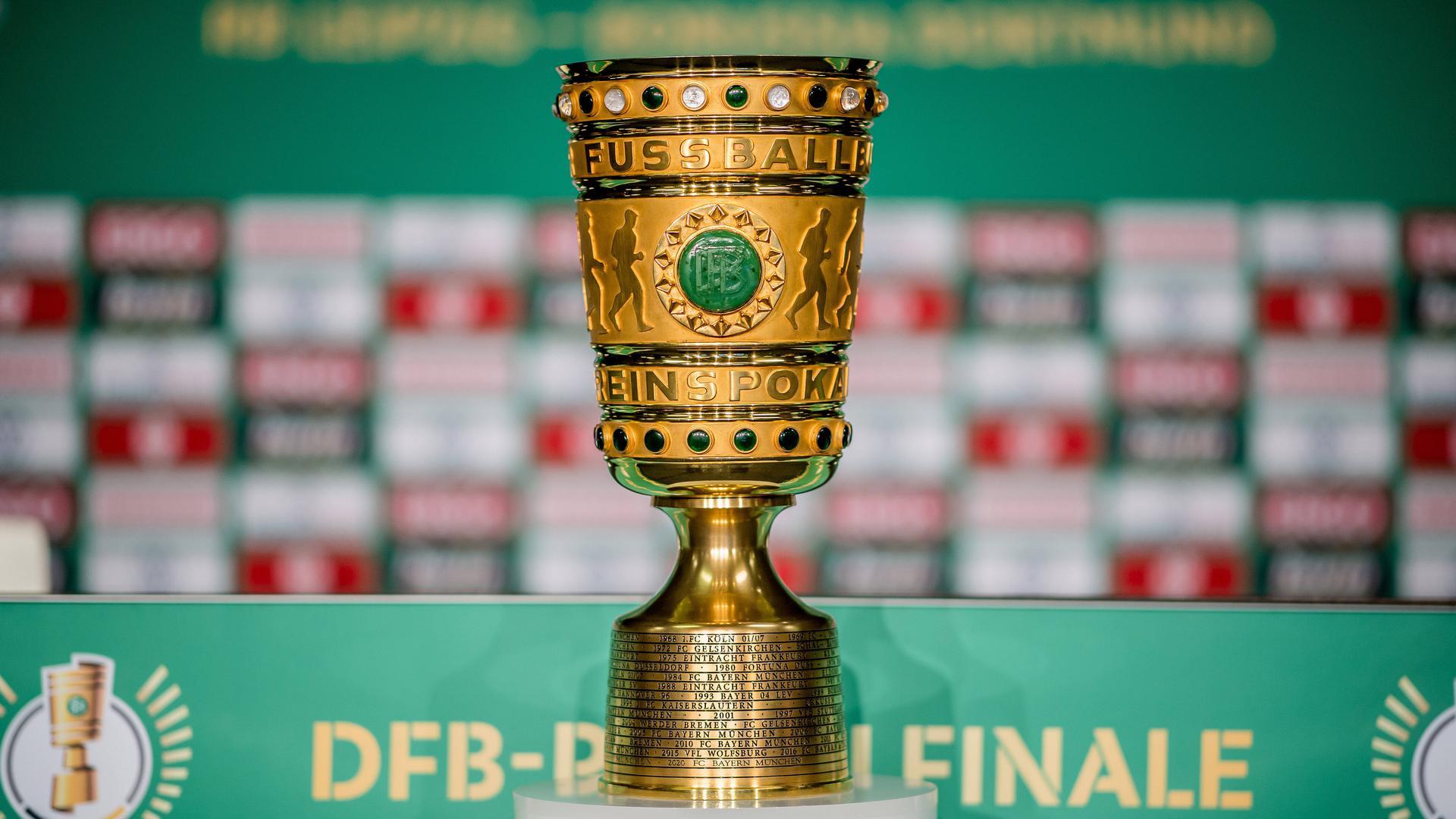 DFB-Pokal: Die erste Runde des Cup-Wettbewerbs 2021/2022 ist ausgelost.